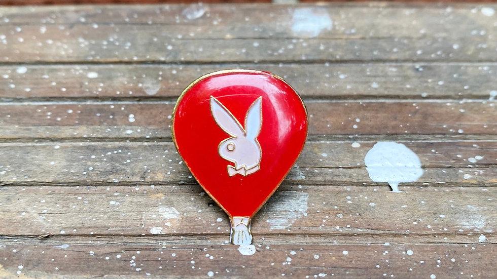 Playboy Balloon Pin