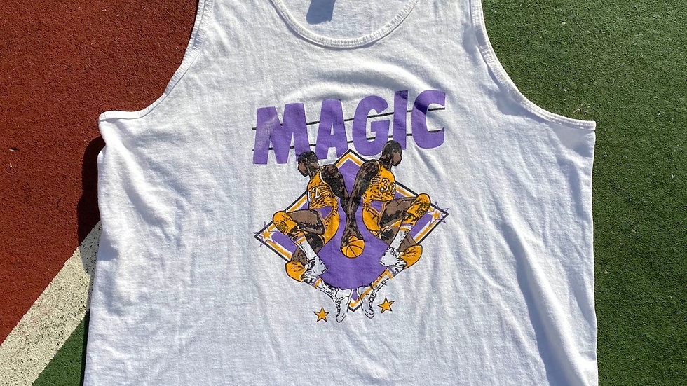 90's Magic Johnson Lakers Tank Top