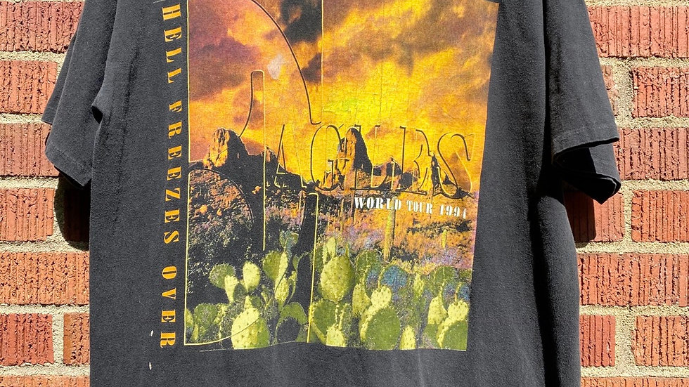 1994 Eagles Hell Freezes Over Tour Tee