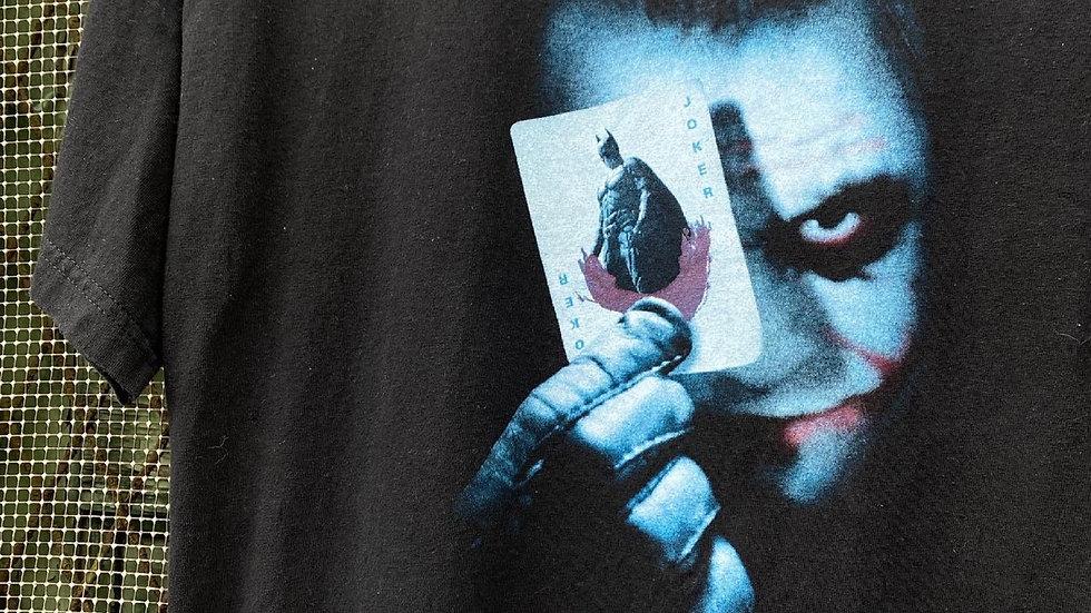 2008 Dark Knight Joker Cards Tee