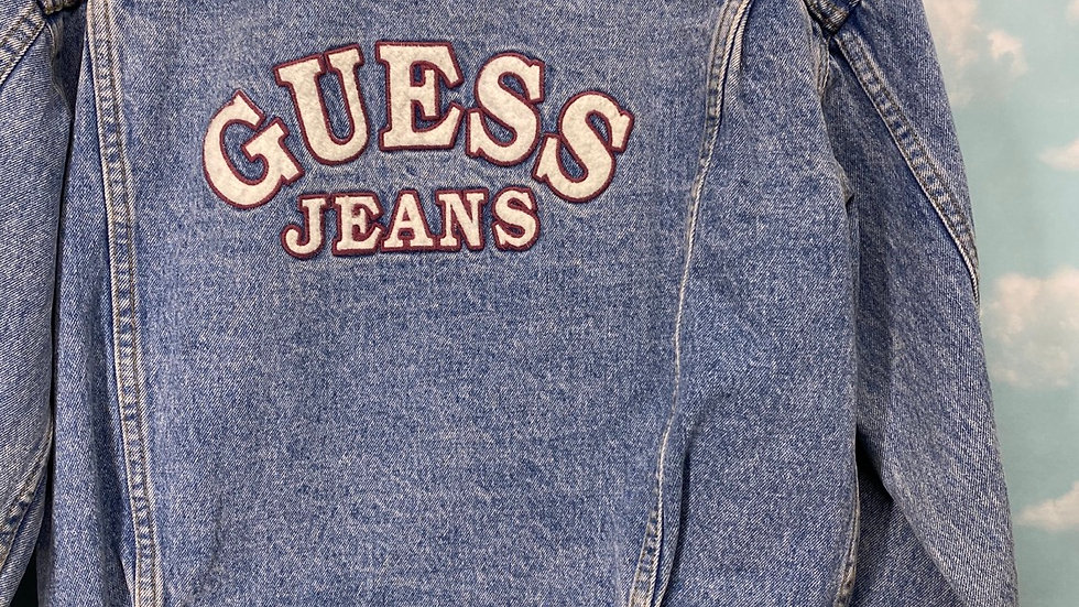 Guess Jeans Spell Out Jacket