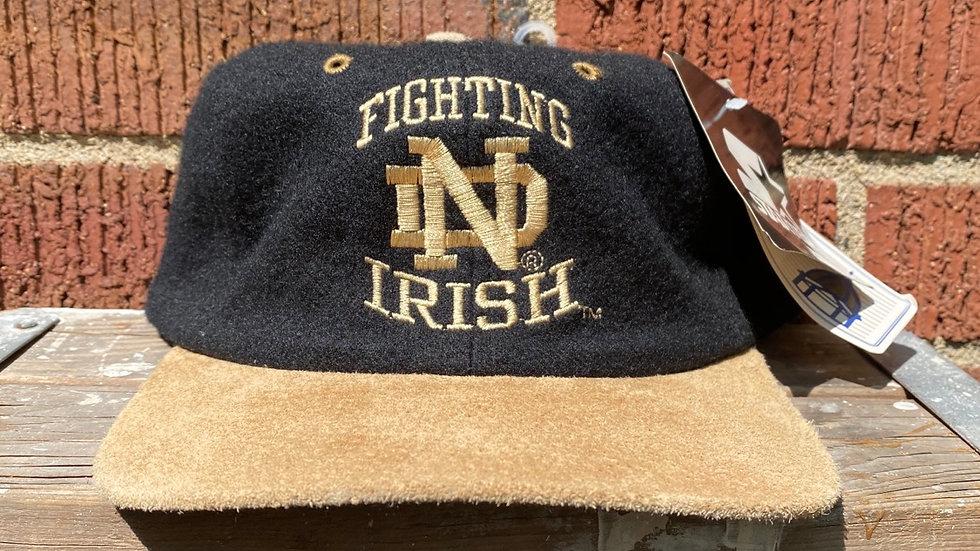 90's Notre Dame Strapback Hat