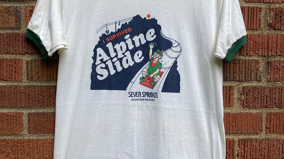 I Survived The Alpine Slide Tee