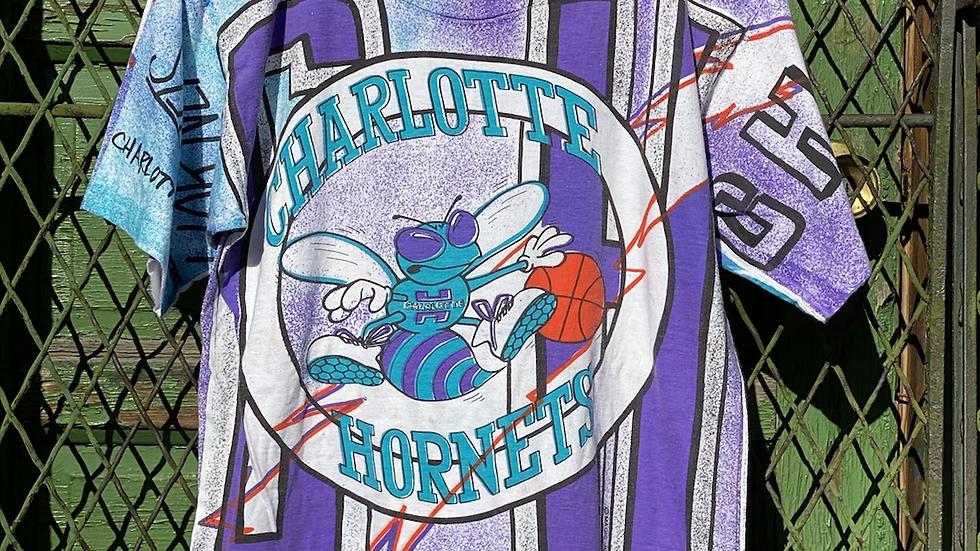 90's Charlotte Hornets All Over Print