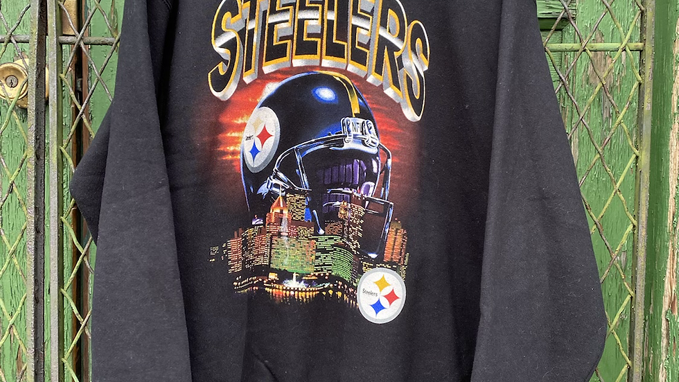 90's Pittsburgh Steelers City Crewneck