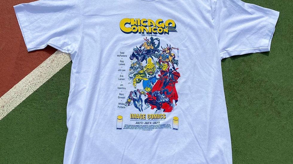 1992 Chicago Comic Con Image Comics Tee