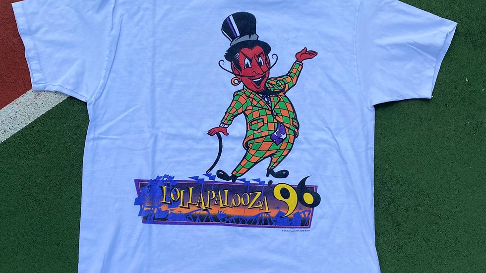 1996 New Orleans Lollapalooza Tee