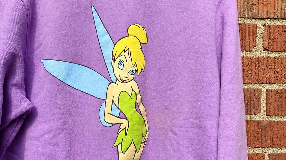 90's Tinker Bell Crewneck