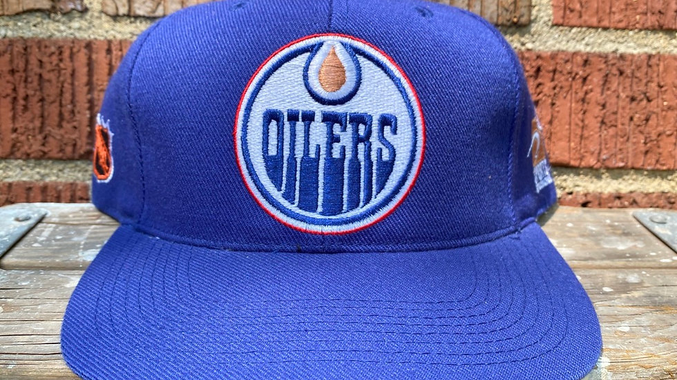 Oilers Plain Logo Sports Specialities Snapback