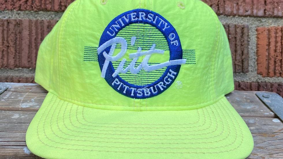 Neon Pitt Panthers Snapback