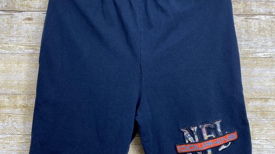 Miami Dolphins Paisley 90's Shorts