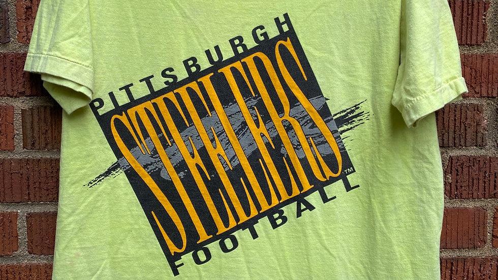 90's Neon Steelers Tee