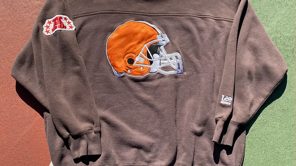 90's Cleveland Browns Helmet Crewneck