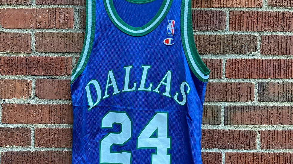 Jim Jackson Dallas Mavericks Jersey Size Small