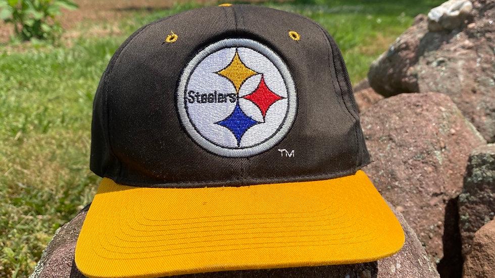Classic Logo Steelers Snapback