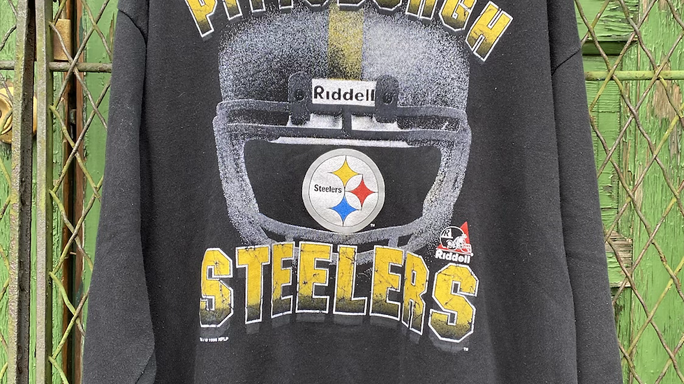 1995 Steelers Helmet Crewneck