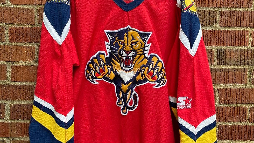 Florida Panthers Starter Jersey Size XL