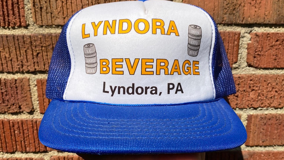 Lydora Beverage Iron City Beer Trucker