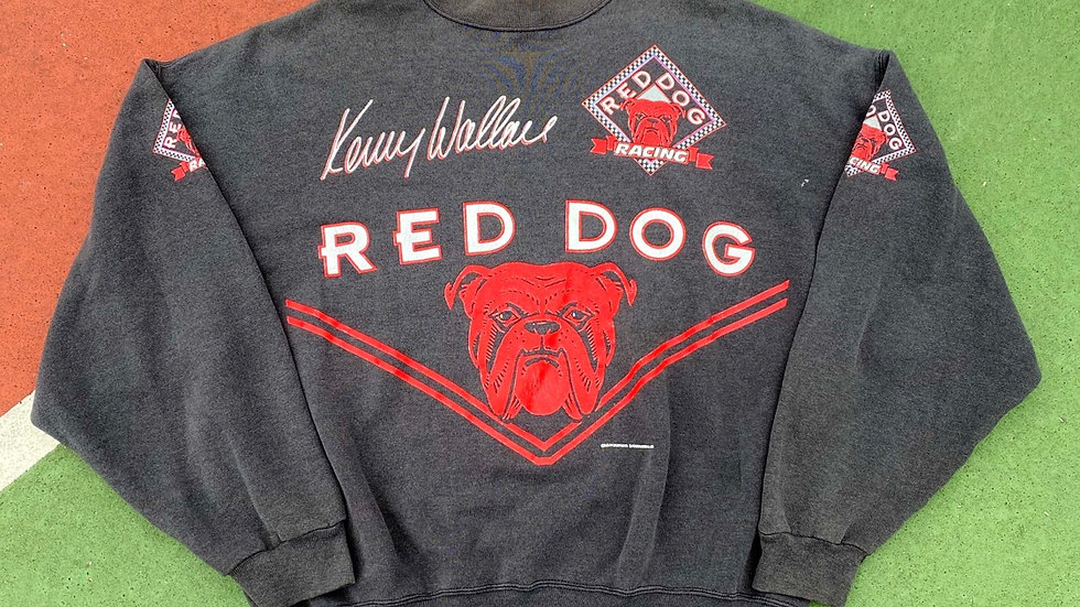 90's Red Dog Racing Crewneck