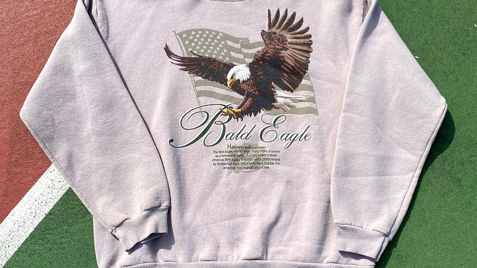 90's Bald Eagle Crewneck