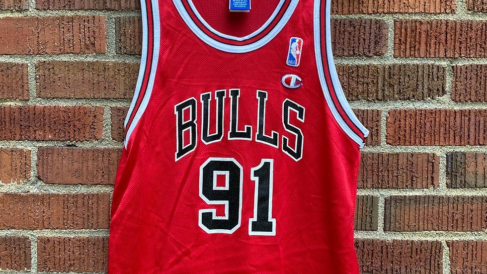 Dennis Rodman Champion Jersey Size Small