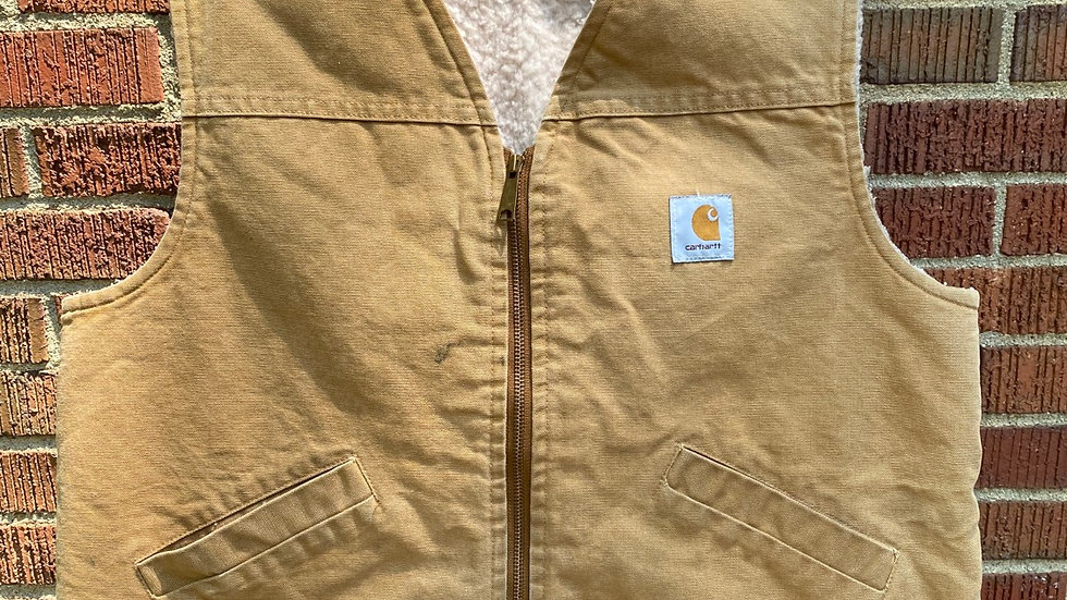 90's Fleece Lined Carhartt Vest