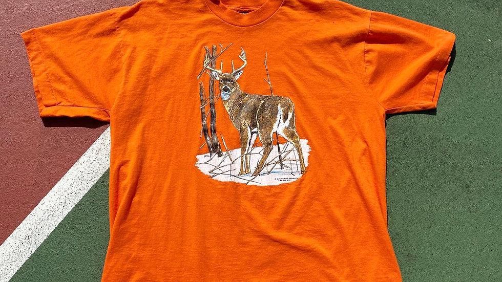 1992 Orange Deer Tee