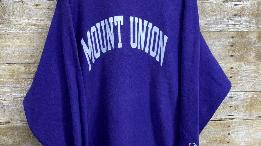 Mount Union 90 Reverse Weave Champion