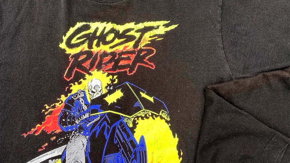 1991 Ghost Rider Marvel Comic Images Tee