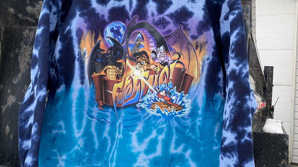 90's Fantasmic Disney Crewneck