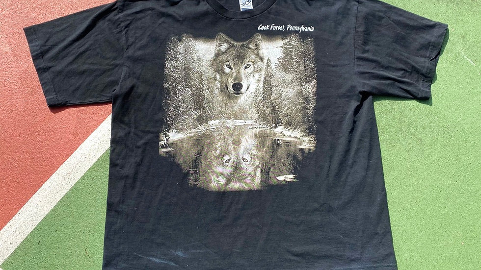 Cook Forrest Wolf Tee