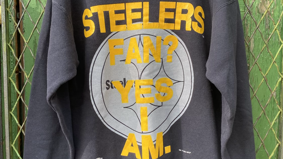 Steelers Fan Yes I Am Crewneck