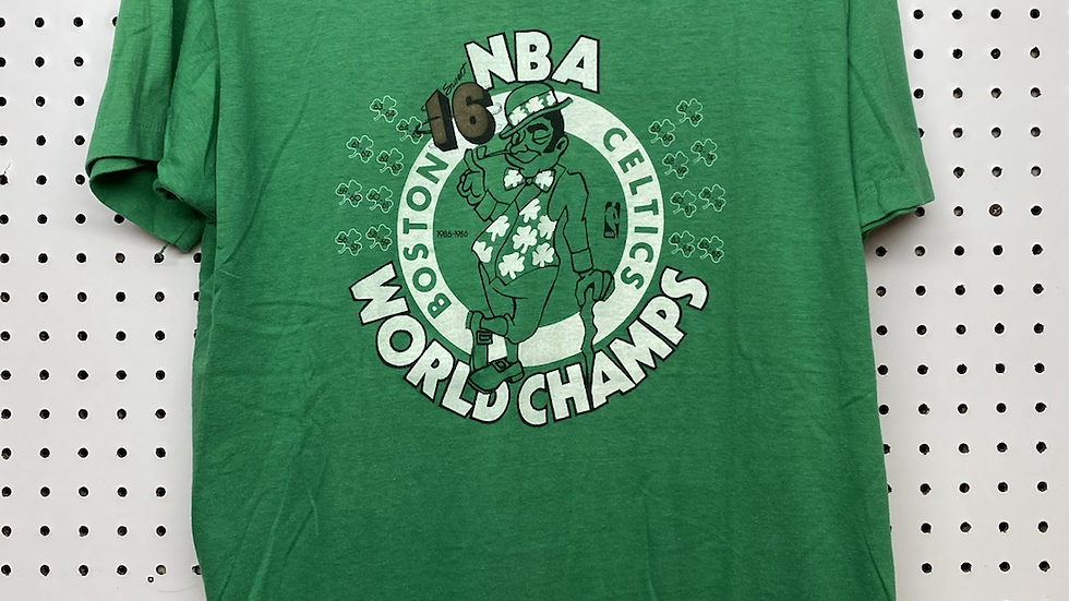 1986 World Champs Celtics Tee