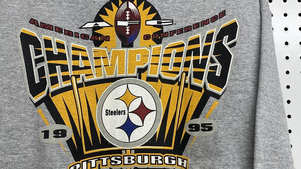 1995 Steelers AFC Champs Crewneck