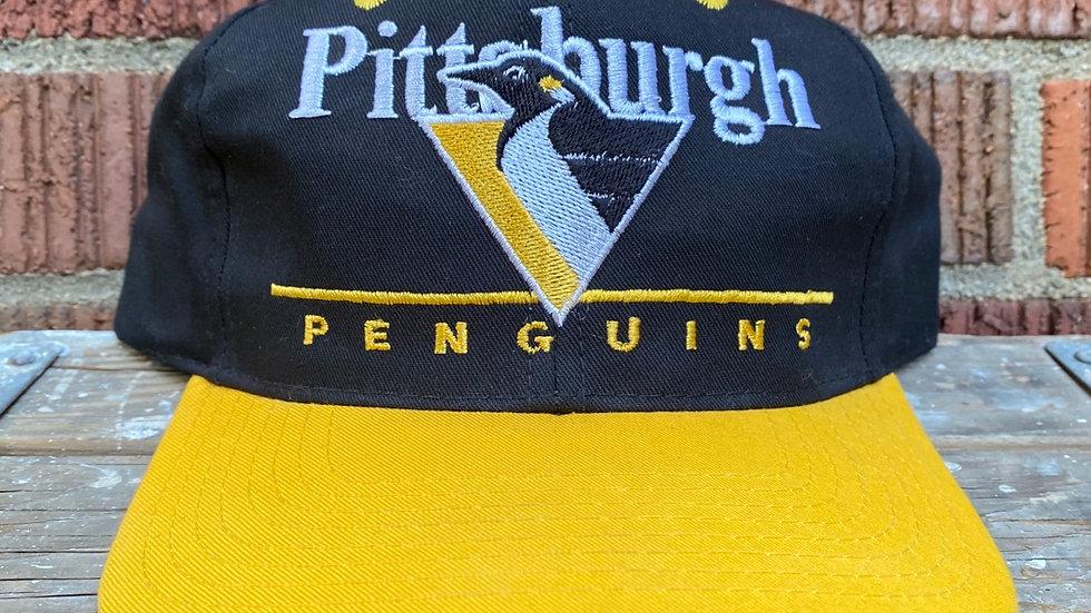 90's Pittsburgh Penguins Snapback