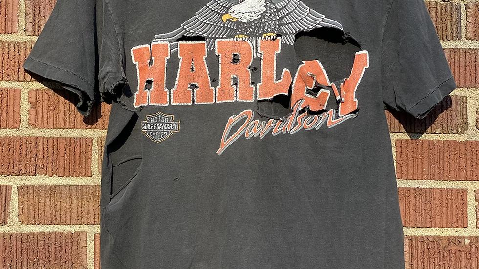 1983 Thrashed Harley Davidson Tee