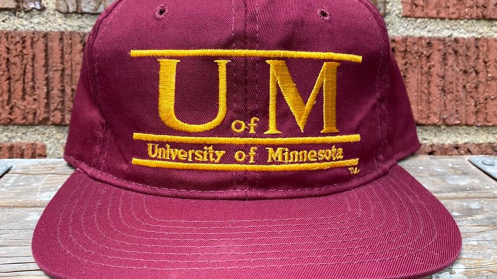 University Of Minnesota Double Bar Snapback