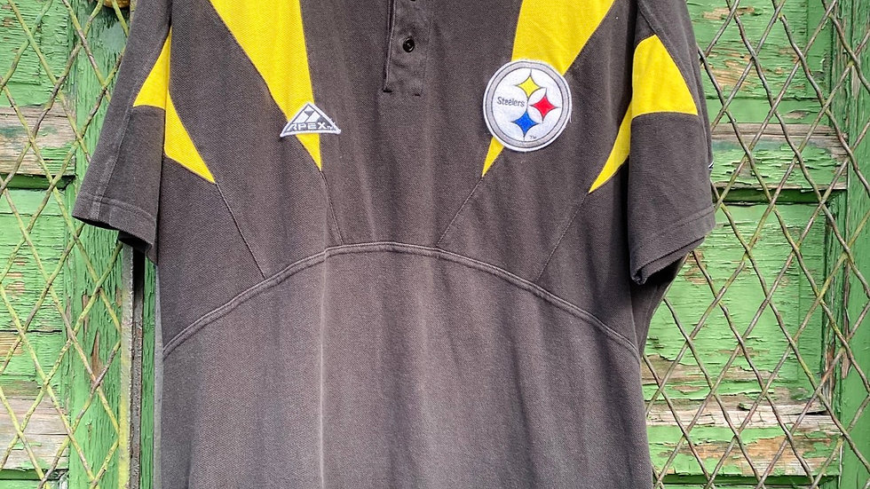 90's Steelers Apex Polo Shirt #2
