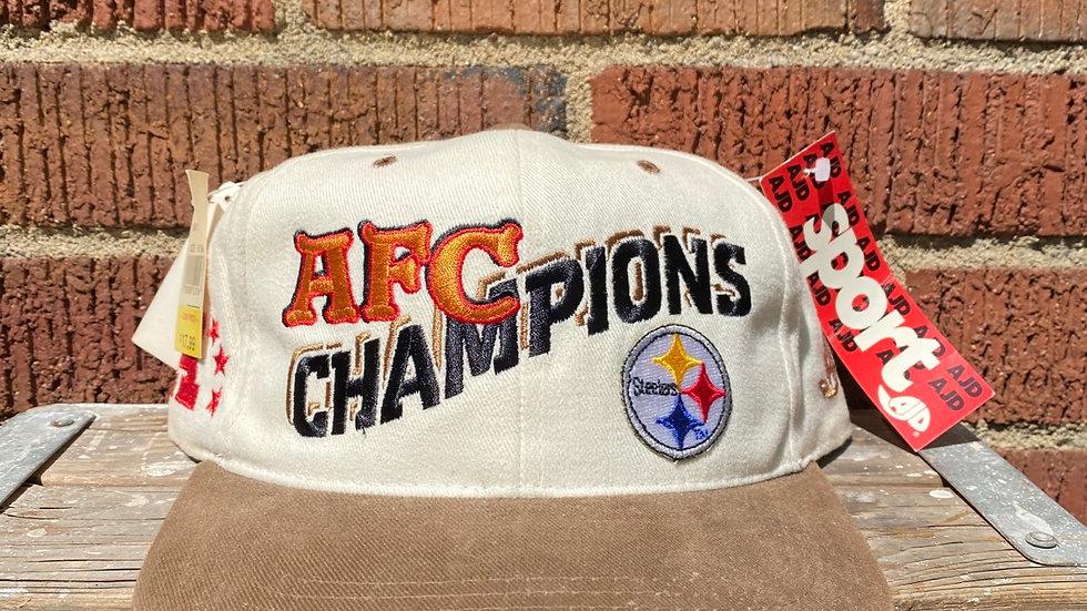 Steelers AFC Champions Snapback
