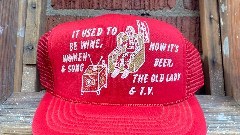 It Used To Be... Trucker Hat