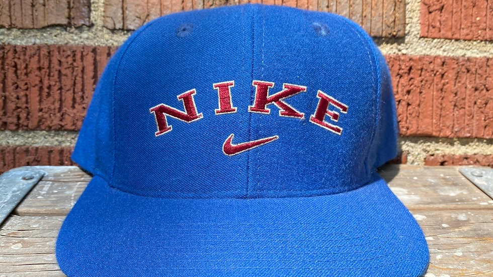 90's Blue Nike Spell Out Snapback