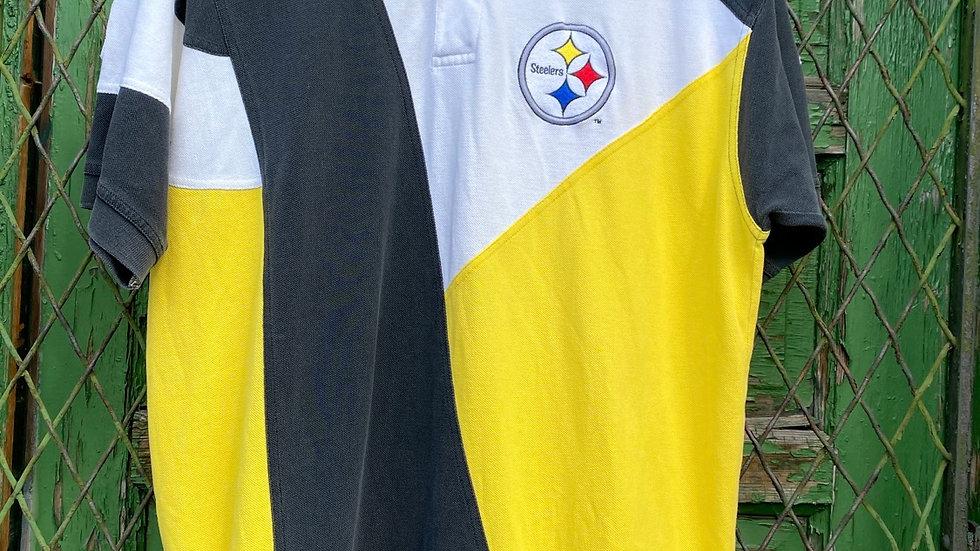 90's Steelers Apex Polo Shirt #1
