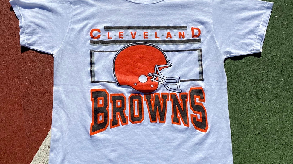 90's Cleveland Browns Classic Logo Tee