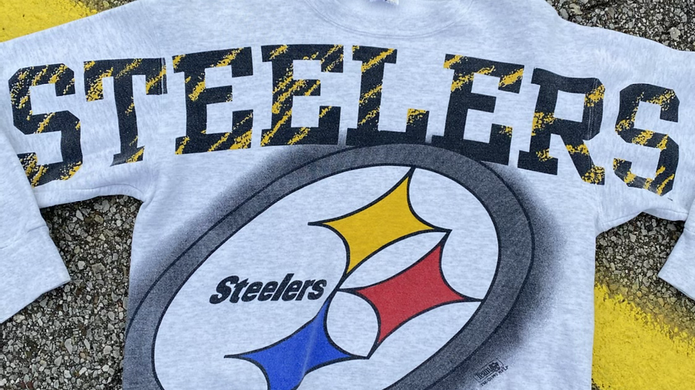 1993 Pittsburgh Steelers Magic Johnson Crewneck
