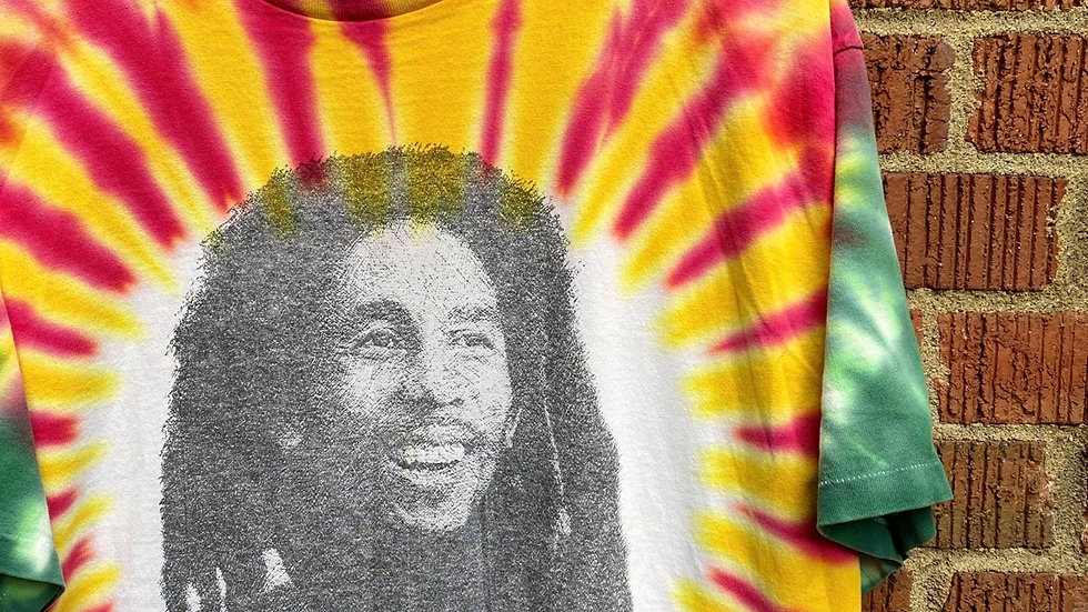 1990 Bob Marley Tie Die
