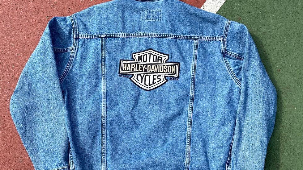 90's Harley Davidson Denim Jacket