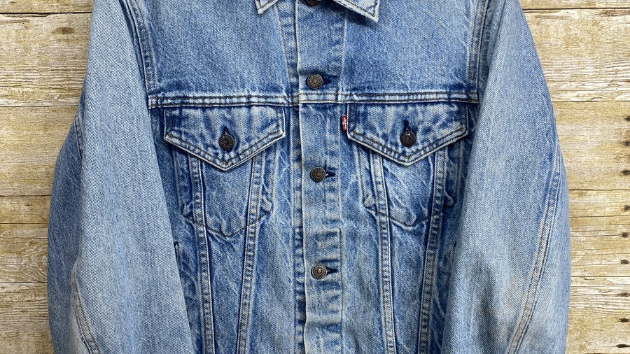 90's Light Wash Levis Jacket