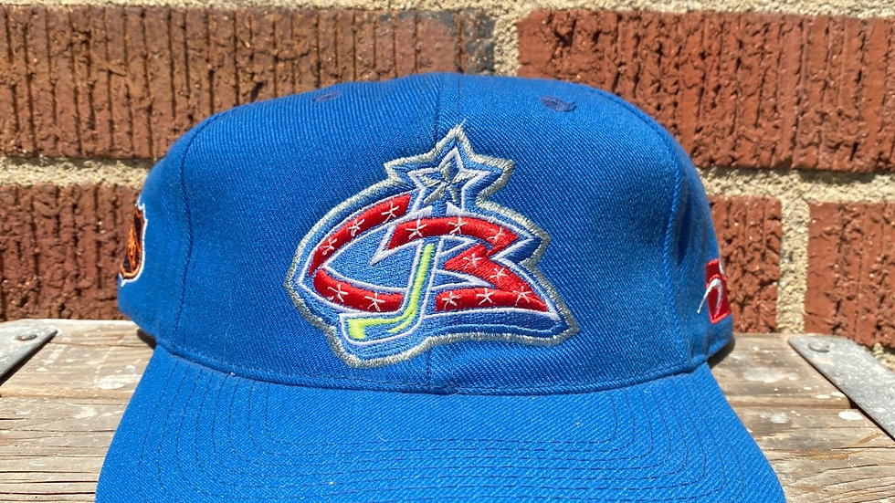 Columbus Blue Jackets Plain Logo Sports Specialties Snapback