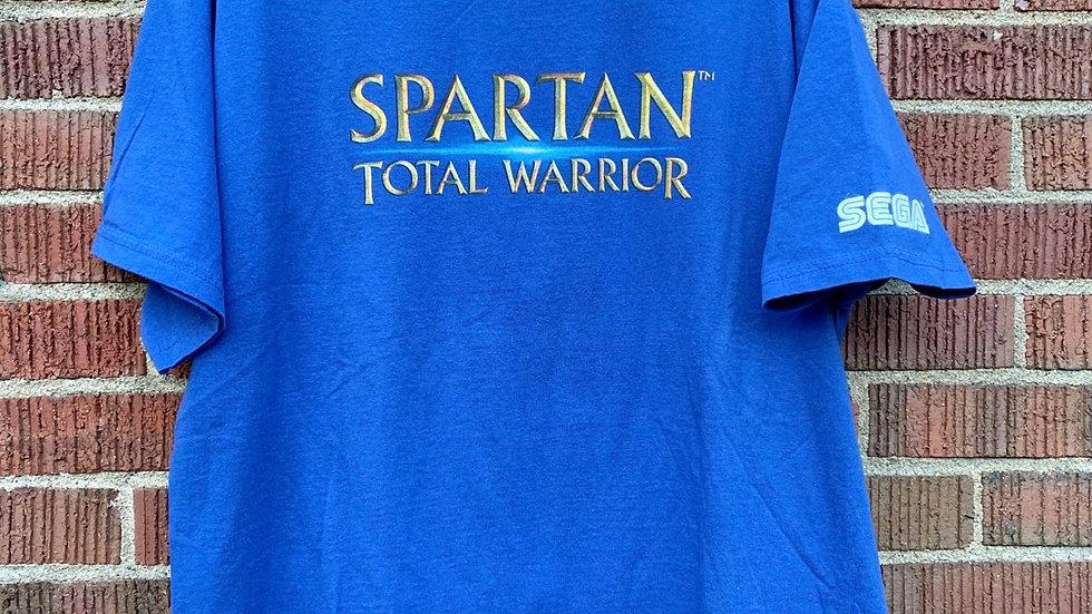 2005 Spartan Total Warrior Sega Tee