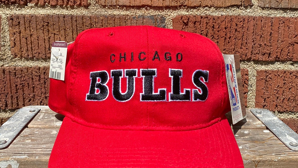 Chicago Bulls Starter Script Snapback